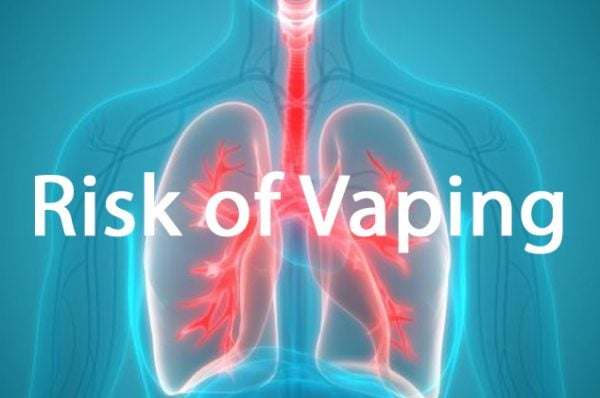 Risk of vaping