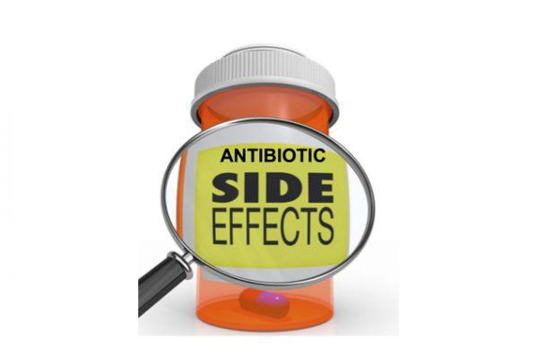 antibiotics side effect
